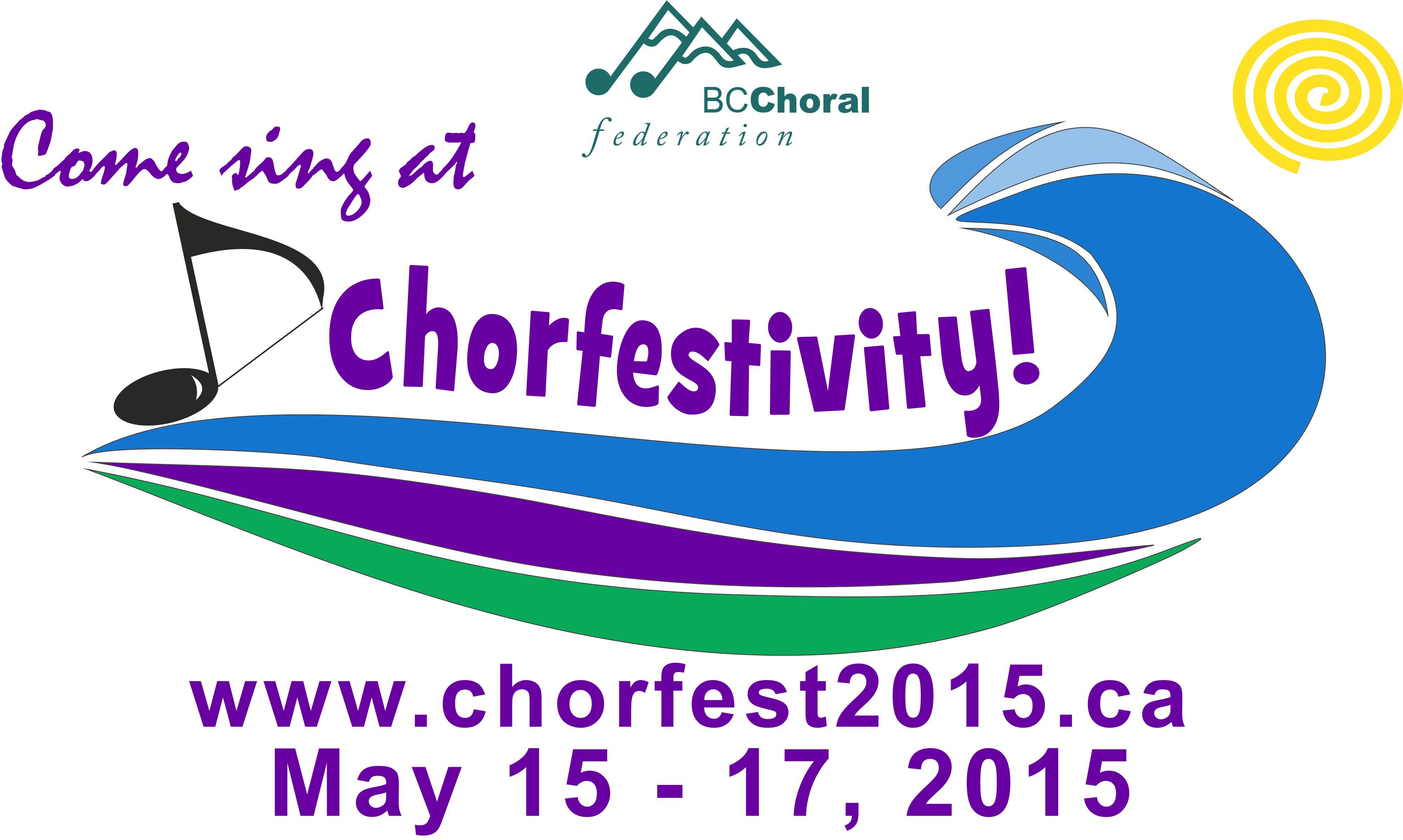 Chorfest 2015 Banner